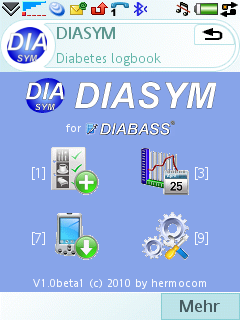 Screenshot of DIASYM